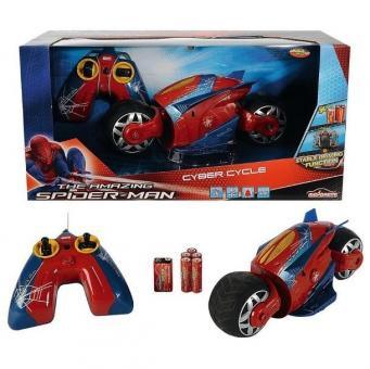 Мотоцикл на радиоуправлении Человек паук