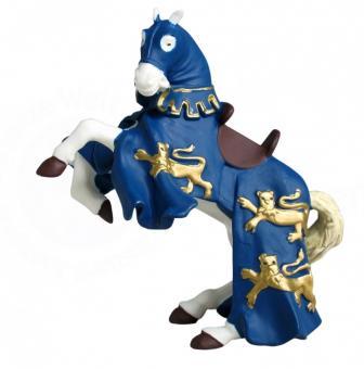 Конь короля Ричарда синий