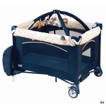 Манеж-кроватка для детей Chicco Play & Nap travel cot