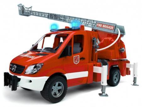Mercedes Benz Sprinter пожарная машина с модулем со световыми и звуковыми эффектами