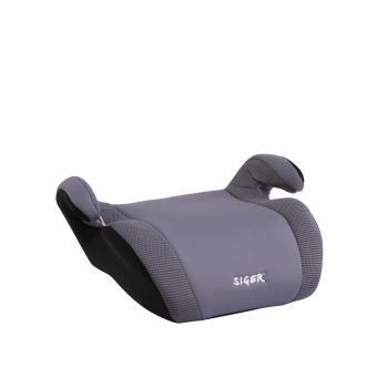 Детское автомобильное  сиденье SIGER Бустер FIX гр. 3  серый