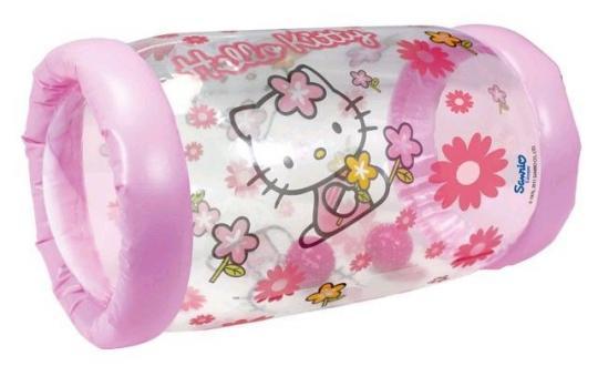 Надувной ролик Hello Kitty, 42х23 см