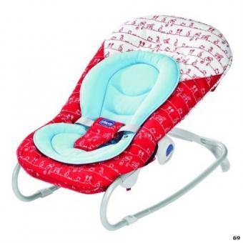 Креслице-качалка, детский шезлонг Chicco Soft Relax