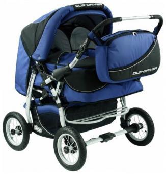 Детская коляска для двойни Tako Duo Driver (дуо драйвер) Blue  Blue