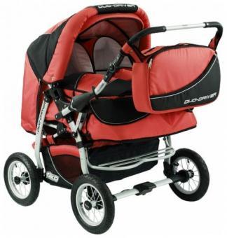 Детская коляска для двойни Tako Duo Driver (дуо драйвер)