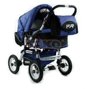 Детская коляска-трансформер Tako Fast Rider Orange Blue