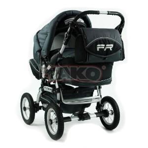 Детская коляска-трансформер Tako Fast Rider Orange DarkGrey