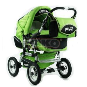 Детская коляска-трансформер Tako Fast Rider Orange Green