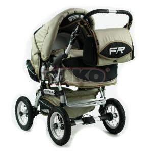 Детская коляска-трансформер Tako Fast Rider Orange Grey