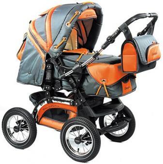 Детская коляска-трансформер Tako City Voyager (сити вояджер) PR