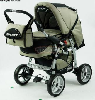 Детская коляска-трансформер Tako Shaft Grey Grey