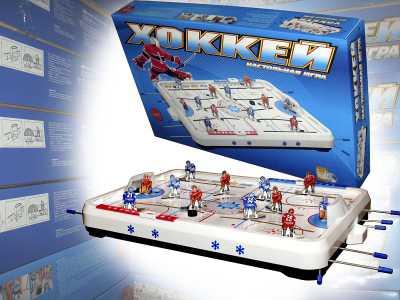 Настольная игра Хоккей (настольный хоккей)