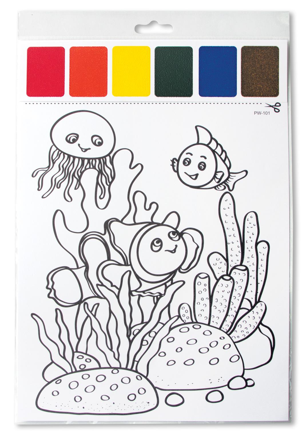 Разрисовывать картинки для девочек красками